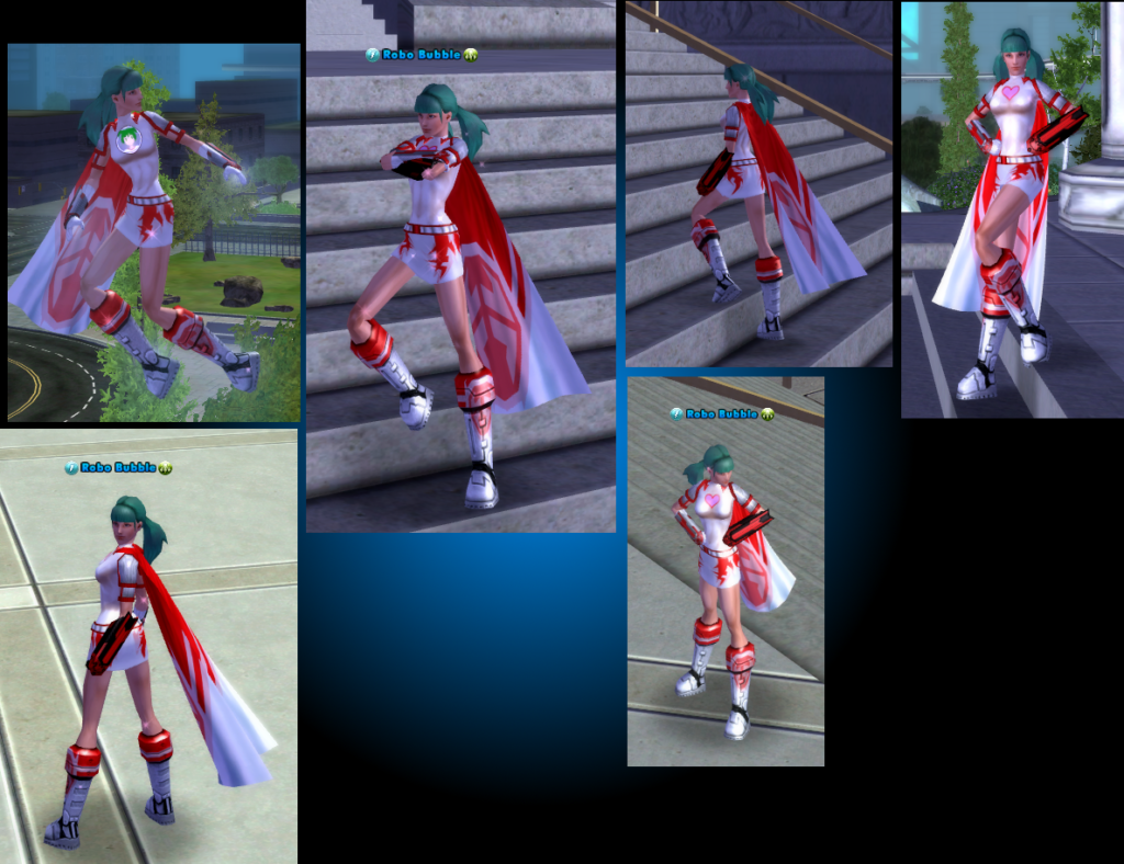 Unfinished City of Heroes Animations