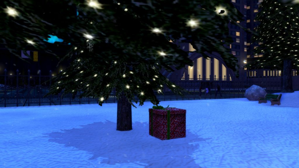 City of Heroes Winter Event Presents