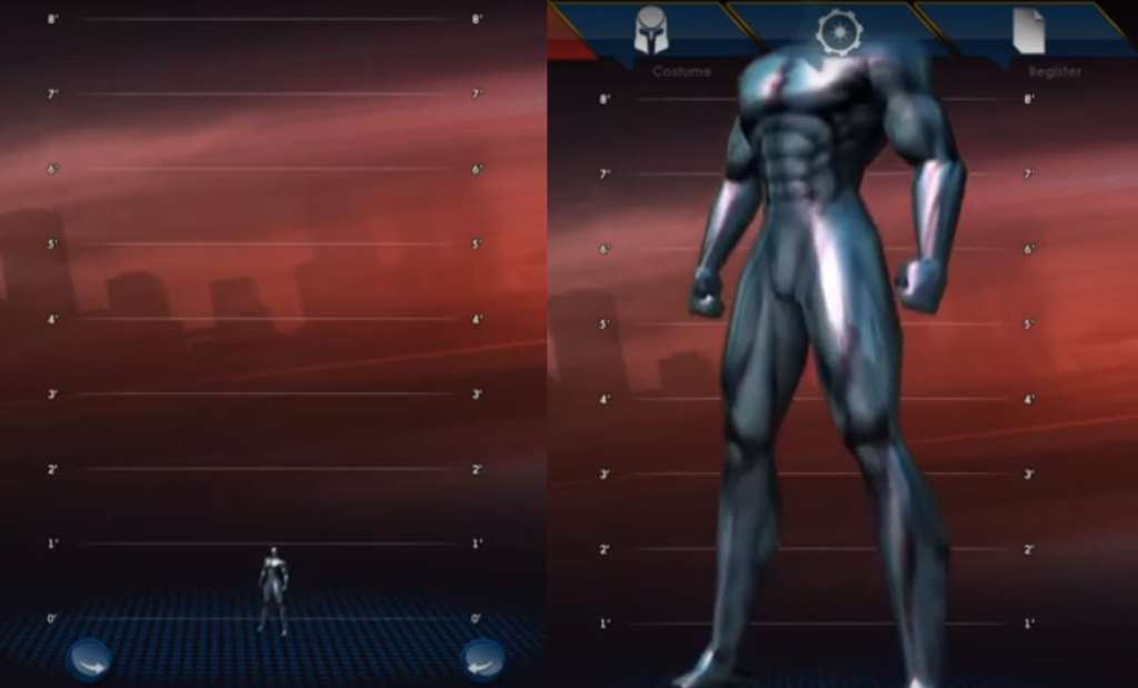 City of Heroes Slider Changes